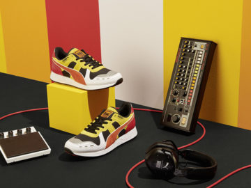 Roland and Puma reveal new TR-808 inspired sneaker collaboration