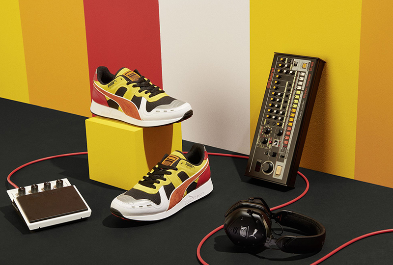 Roland and Puma reveal a new TR-808 inspired sneaker collaboration deb697e94