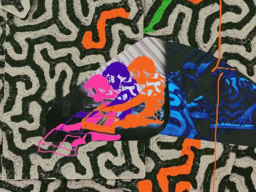 "Animal Collective releasing new album on green 2xLP with ""fossil"" etching"