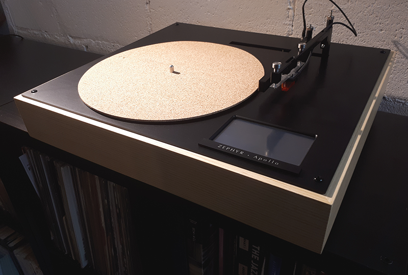 Fine This New Fully Automatic Turntable Is Controlled Via Touch Download Free Architecture Designs Meptaeticmadebymaigaardcom
