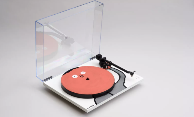 10 artists create one-of-a-kind Rega turntables