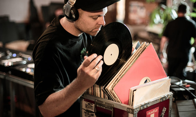 DJ Shadow is selling records from his personal collection for a third year