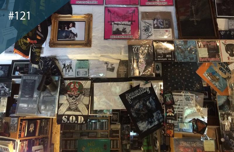 The World S Best Record Shops 121 Neseblod Records Oslo