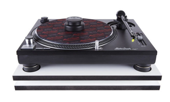 "Mastersounds and TPI unveil ""definitive"" turntable isolation system to eliminate feedback"