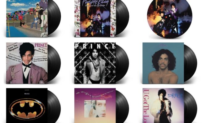 The Prince Estate launches online shop selling vinyl, cassettes and clothing