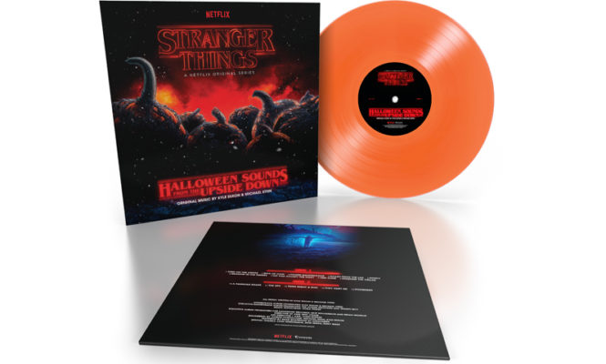 New <em>Stranger Things</em> compilation to be pressed on pumpkin orange vinyl