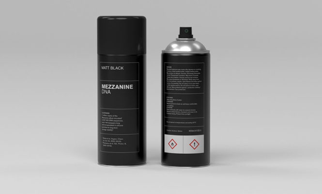 "Massive Attack's <em>Mezzanine</em> ""remastered"" in aerosol spray can format"