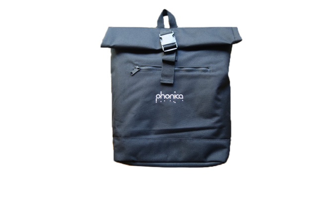 Phonica introduces roll-top record backpack