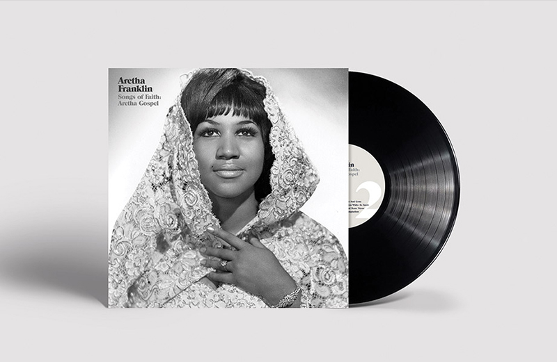Aretha Franklin's 1956 gospel album Songs Of Faith reissued