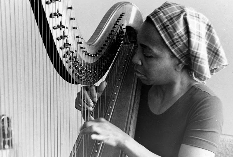 Jazz harp for study time