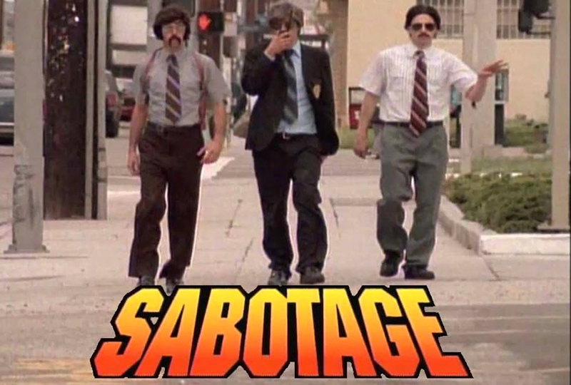 Beastie Boys 'Sabotage' released on 3″ record