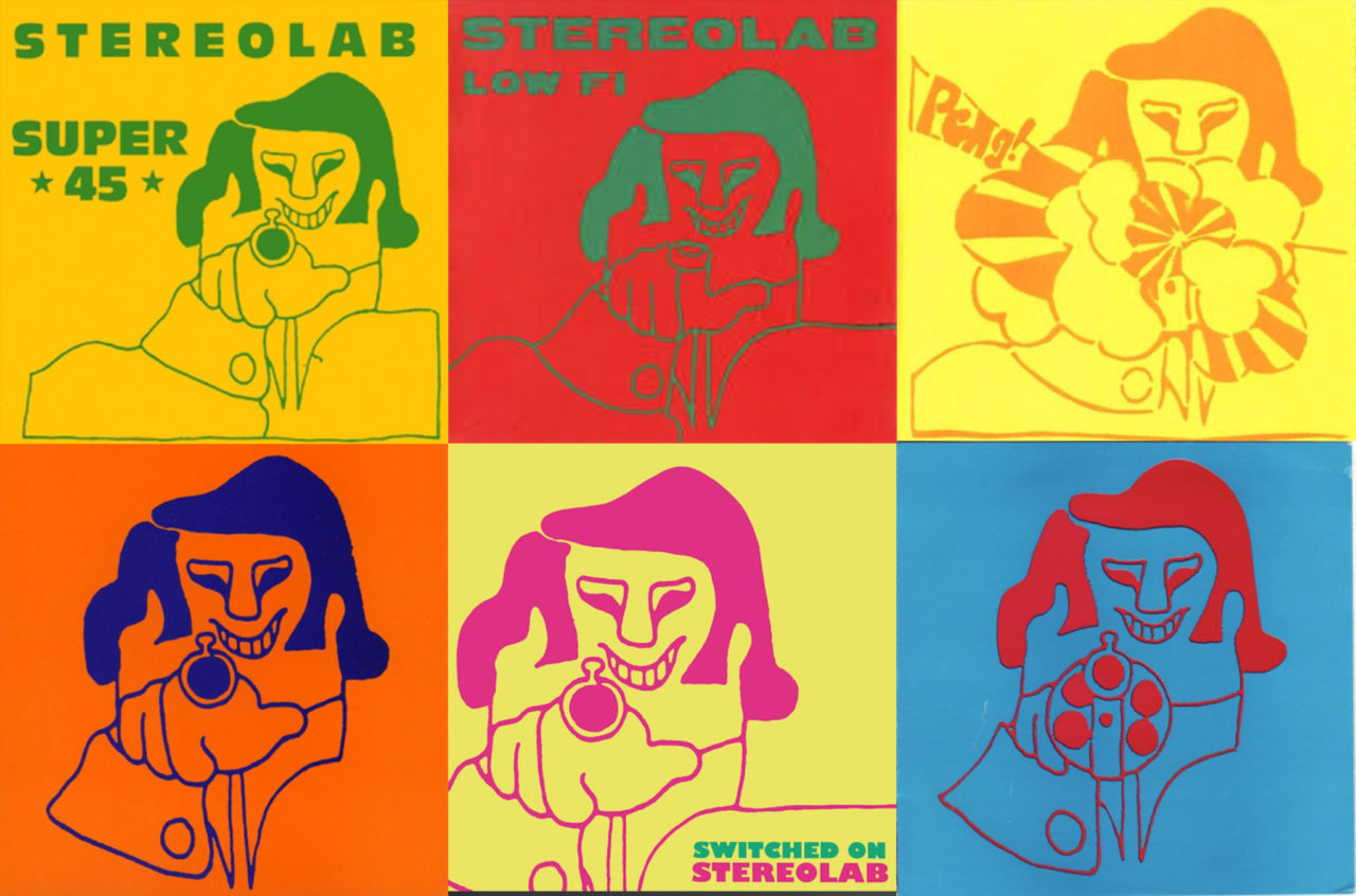 The evolution of Stereolab's analogue-inspired record sleeves