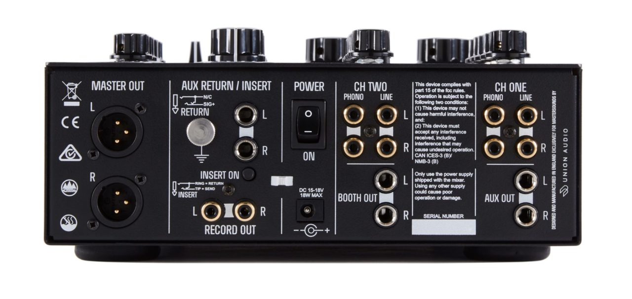 Mastersounds Launches Handmade Two Valve Compact Dj Mixer