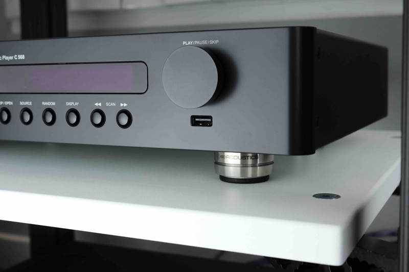 IsoAcoustics unveils new turntable and hi-fi isolator