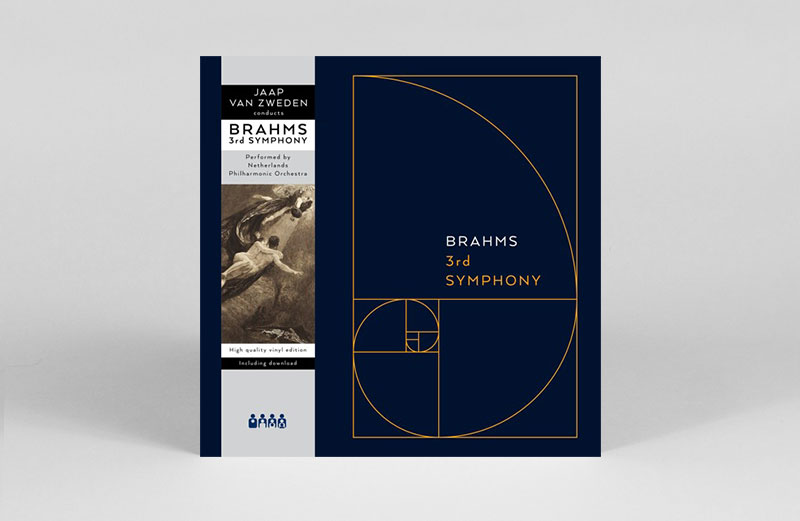 Johannes Brahms' 3rd Symphony released on Clone Records' classical sub-label