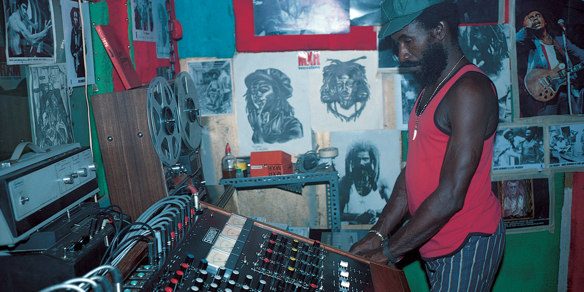 """Listen to a Lee """"Scratch"""" Perry tribute mix by Dennis Bovell"""