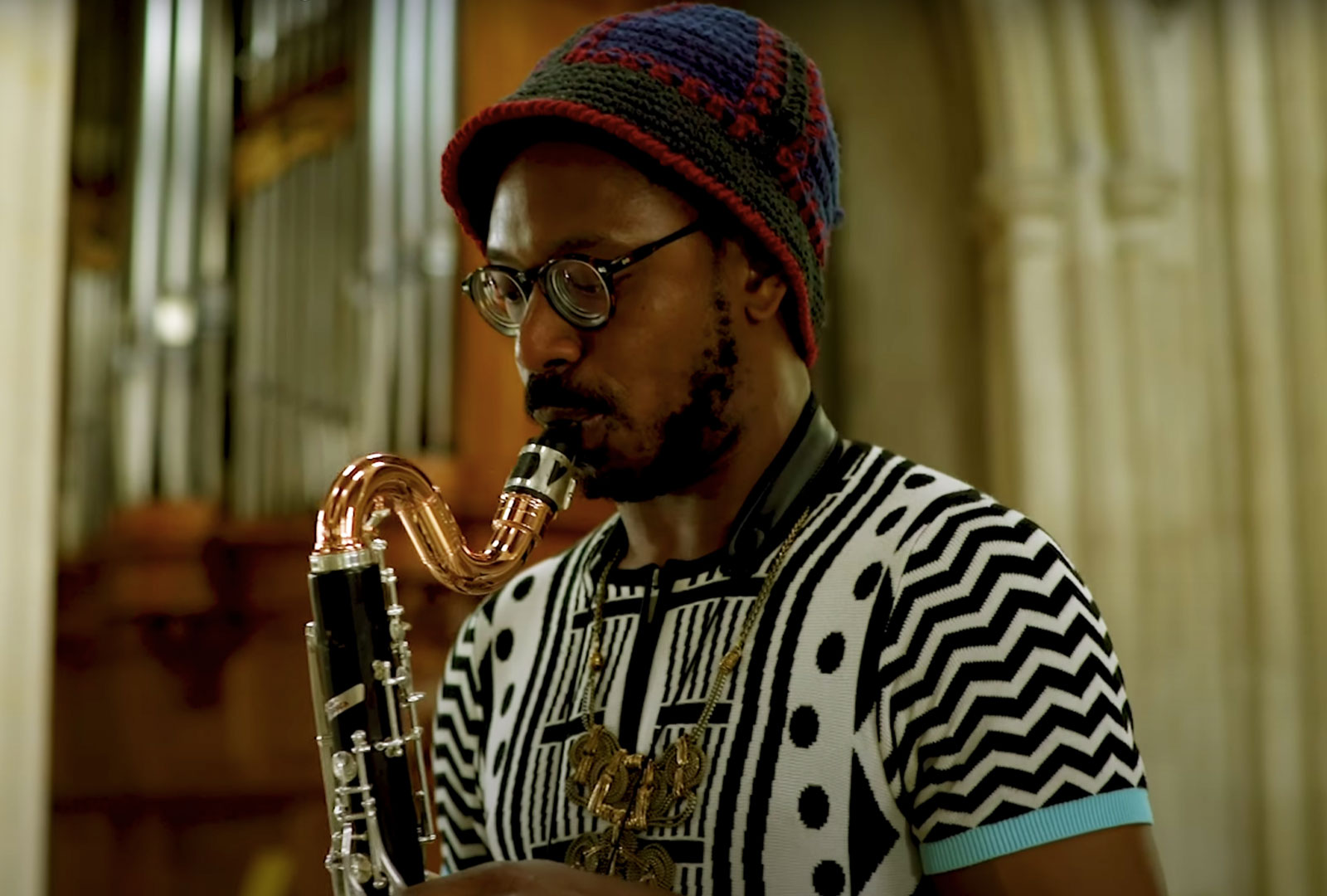 Shabaka Hutchings shares new composition for Stop the War