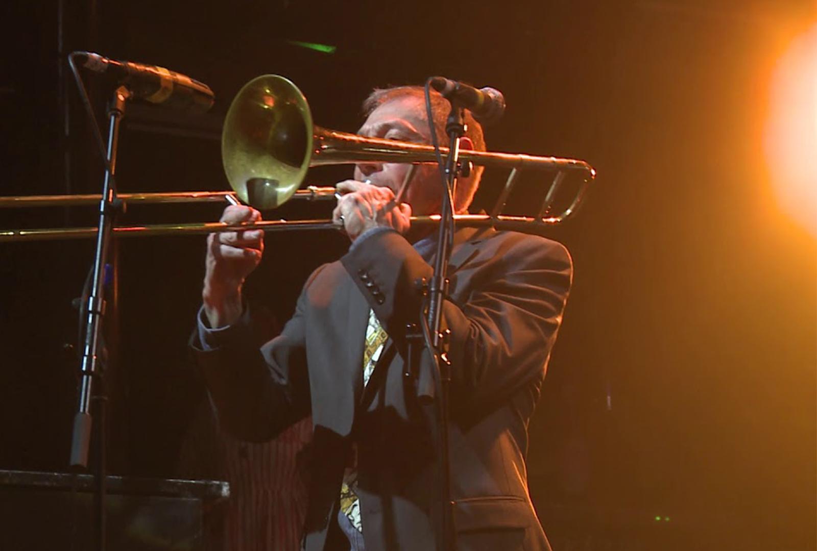 Trombonist Peter Zummo and artist Jonas Pequeno collaborate on new video work