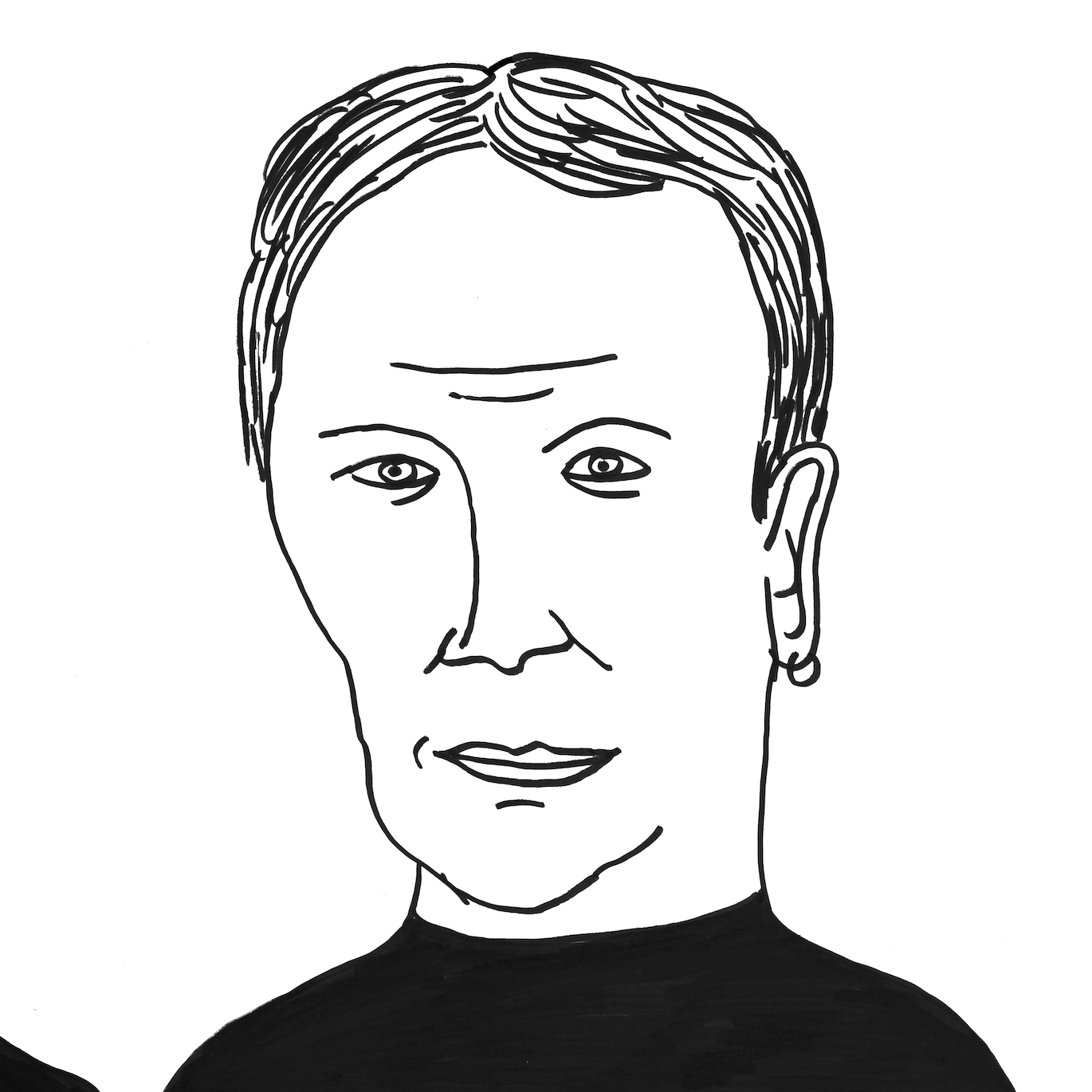David Shrigley Portait