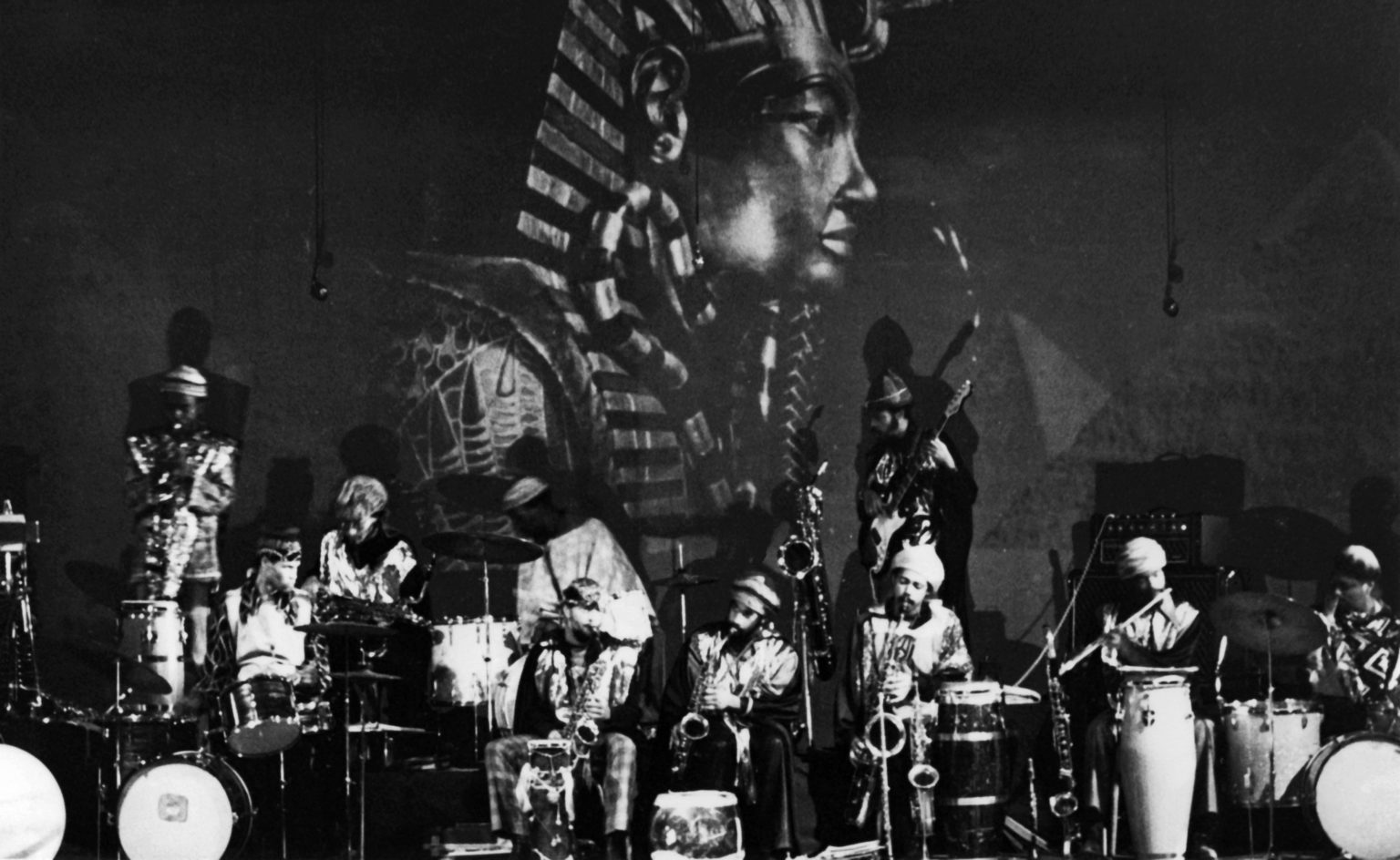 When Sun Ra Went to Egypt in 1971: See Film & Hear Recordings from the Legendary Afrofuturist's First Visit to Cairo