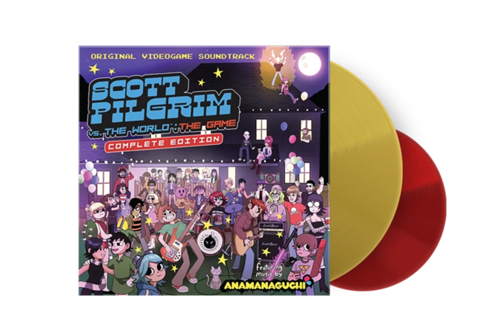 Scott Pilgrim Vs. The World video game soundtrack released in new vinyl edition