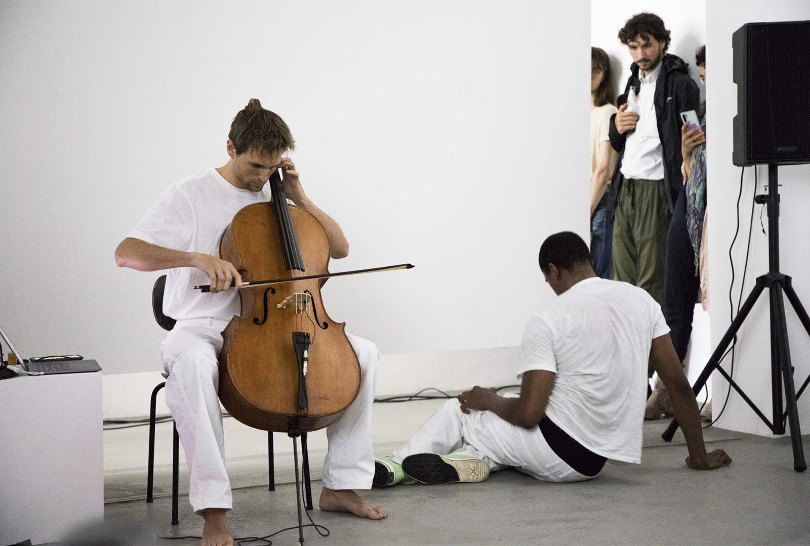 Cellist Patrick Belaga mixes electronics with field recordings on Blutt