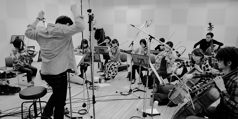 Computer-generated sounds meet string orchestrals on Takuma Watanabe's new LP