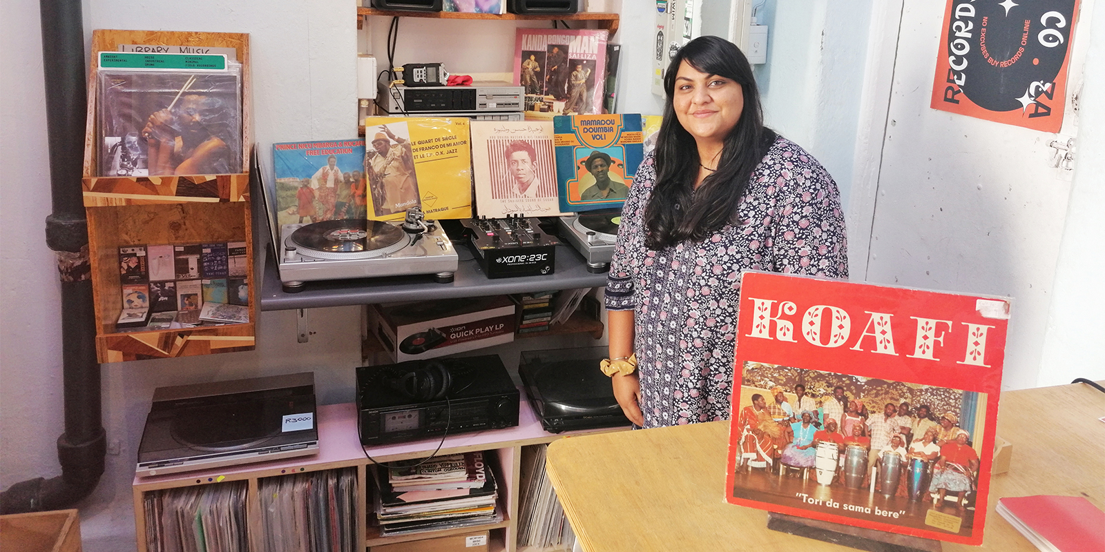 VF Live: The Other Records #9 with Atiyyah Khan