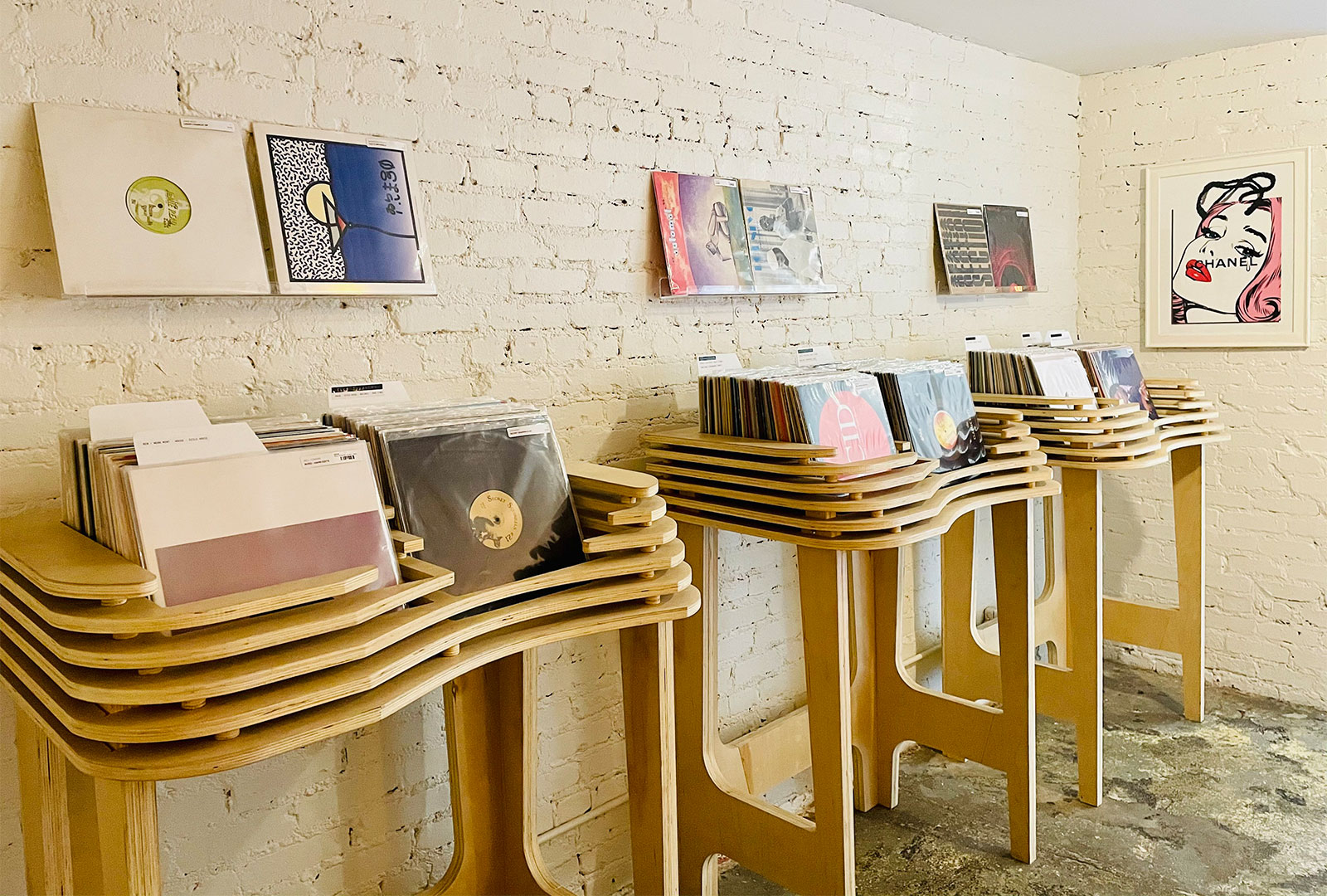 A new record shop has opened in Los Angeles, Chapter One