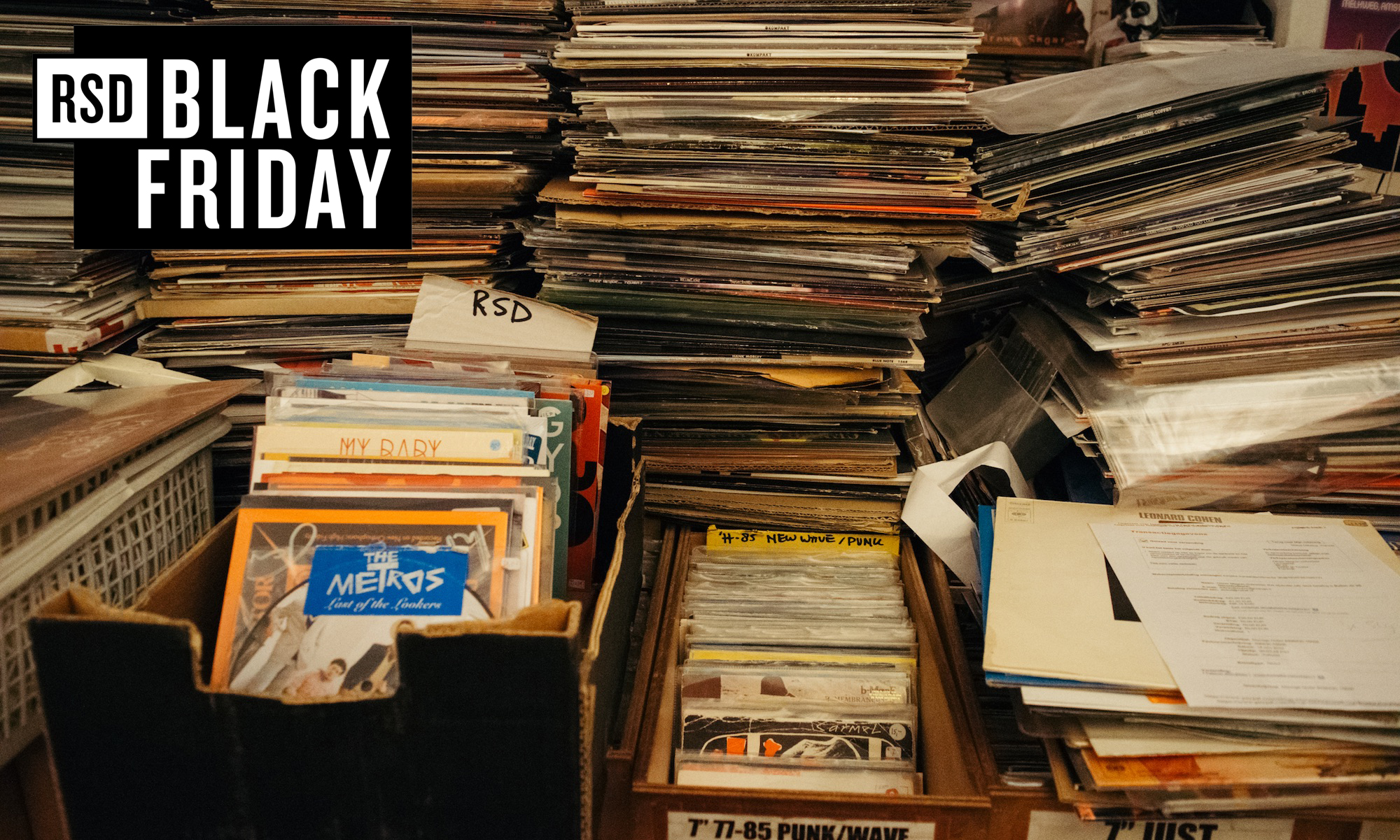 """The official list of Record Store Day """"Black Friday"""" 2021 releases"""